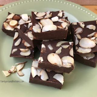 Coffee Almond Fudge Recipe