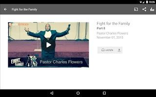 Screenshot of Faith Outreach Center