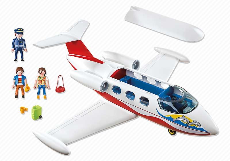 Contenido de Playmobil® 6081 Avión de Vacaciones