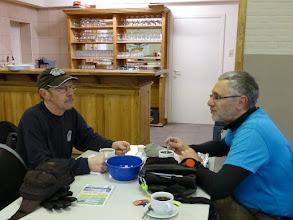 Photo: koffie op de controle in Kerkom