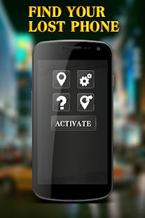 Lokalizace telefonu GPS sledování najit mobilu - náhled