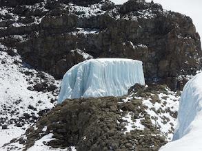 Photo: Piece of the Furtwangler Glacier