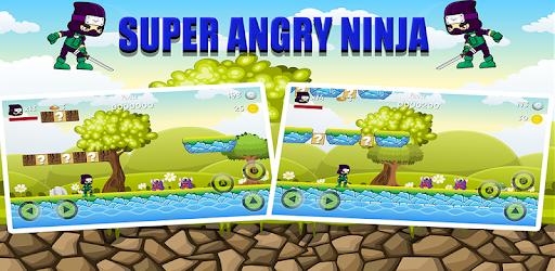 Alt image بطل النينجا الغاضب - super angry ninja