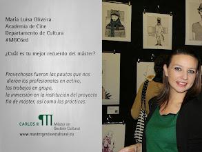 Photo: María Luisa Oliveira #MGC6ed