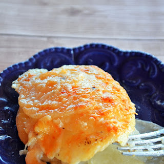 Garlic Parmesan Potato Au Gratin Recipe