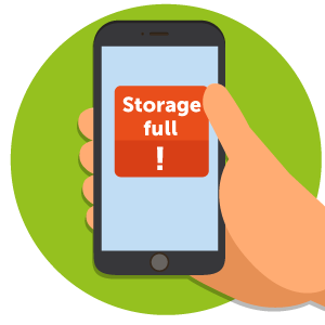 phone storage full