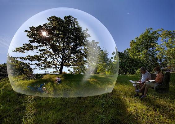 Vivere il tempo del covid...in una bolla di angart71