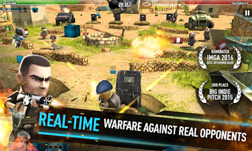 WarFriends 1.4.0 (Unlimited Ammo) Mod Apk + OBB Data 1