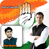 Rahul Gandhi Photo Frame Editor2019 Congress Photo