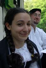 Photo: Die älteste Tochter der Bauernfamilie, Svantje von der Scholle.