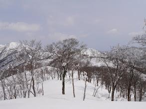 県境稜線を北へ