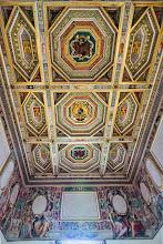 Photo: Ceiling in Villa d'Este in Tivoli, Lazio, Italy