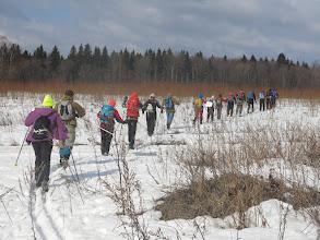 """Photo: """"Ещё в полях белеет снег и лыжники гуськом идут..."""""""