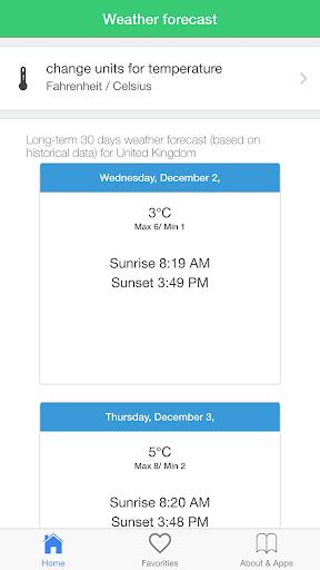 玩天氣App 英国的天气,预报气候旅游指南免費 APP試玩