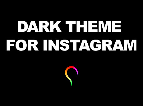 Night mode Instagram