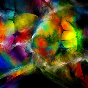 Breach by Glen Sande - Painting All Painting ( modern, abstract, concept, abstract art, contemporary, digital painting,  )