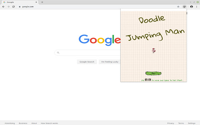 Doodle jumping Man Online Game