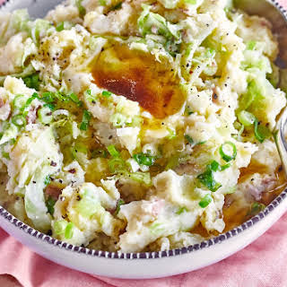 How To Make Colcannon (Irish Potatoes and Cabbage).