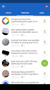EarlyBird - News for Android™- screenshot thumbnail