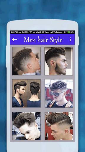 Men hairstyle set my face 2017 1.0.8 screenshots 6