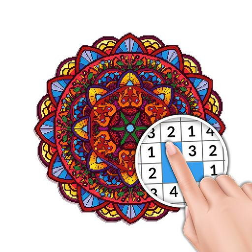 Mandala Color By Number Coloring Book For Adults Apps On Google
