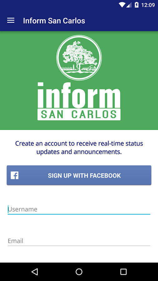 Inform San Carlos- screenshot