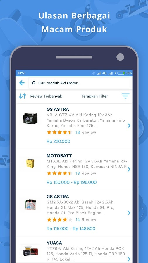 Moladin - App for bikers- screenshot