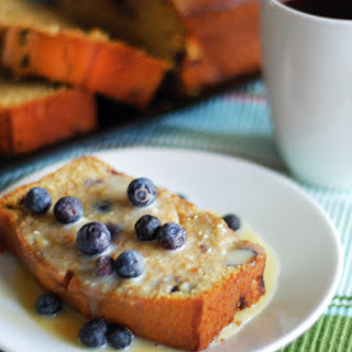 Wild Mountain Blueberry Pound Cake