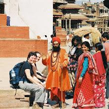 Photo: ein echter oder ein Touristen Sadu ?