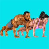 3D Push Ups Home Workout