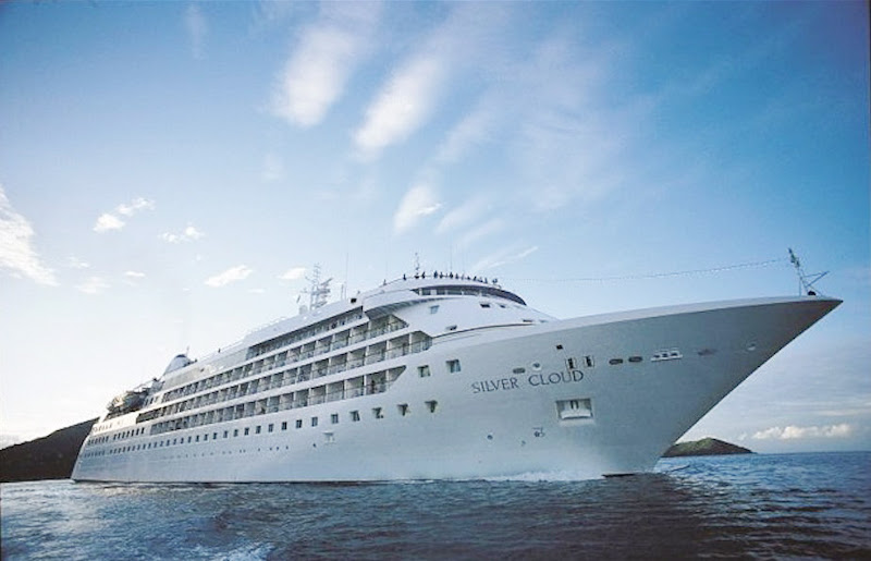 Booking a select ocean voyage on Silver Cloud by July 31 will score you a $1,500 shipboard credit.