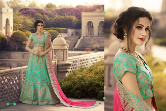 Photo: CODE: 13007 LEHENGA . Price : USD 148