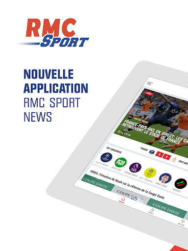 RMC Sport News - Info Foot et Sport en direct - screenshot