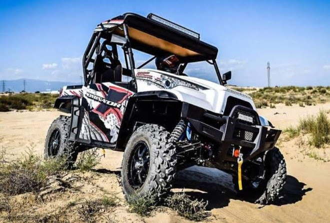 1000cc GTR Hisun Sports UTV Utility Vehicle Side By Side Ute - Polaris RZR Ranger Clone