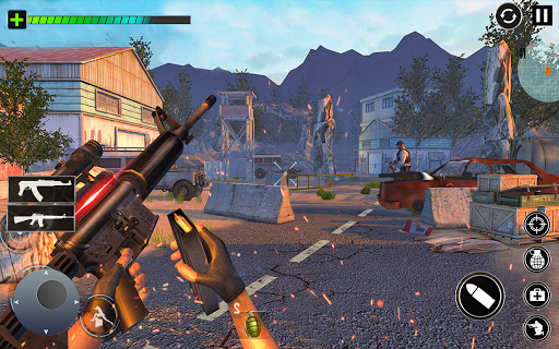Combat Commando Gun Shooter  screenshots 3