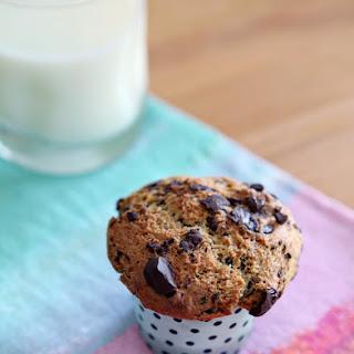 Dark Chocolate Chunk Muffins