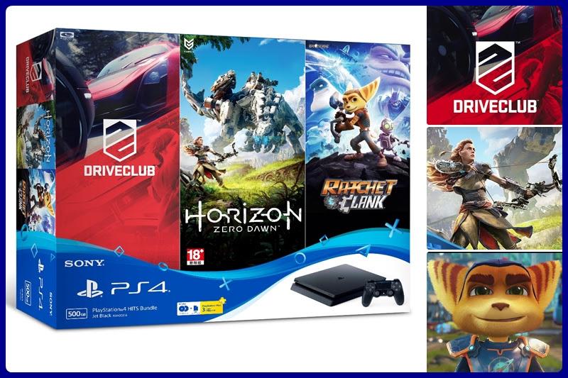 [PlayStation] ประกาศ PS4 ชุดบันเดิล 3 เกม!