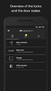 SimonsVoss MobileKey - náhled