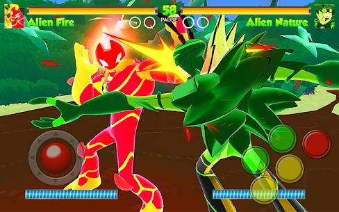 Hero Alien Force Ultimate Arena Mega Transform War 5