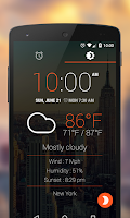 Screenshot of WakeVoice Trial alarm clock