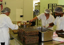 Photo: Visite entreprise Chocolateries Puyricard.