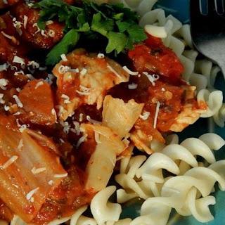 Spicy Kimchi Chicken Rotini