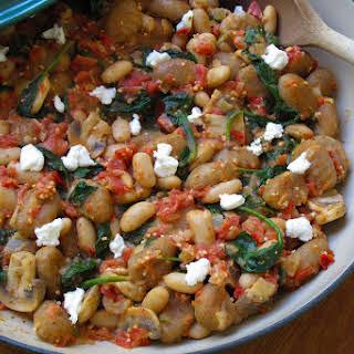 White Bean and Spinach Gnocchi.