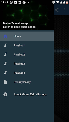 Maher Zain All Songs App Report on Mobile Action - App Store