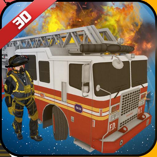 Virtual Firefighter Hero City Rescuer