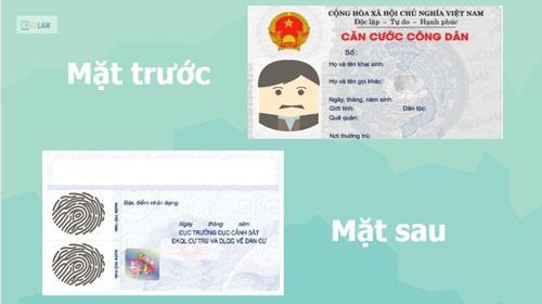 Kết quả hình ảnh cho thẻ căn cước công dân