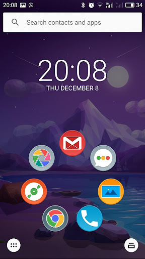 (APK) تحميل لالروبوت / PC Nexus 5 Rounded IconPack تطبيقات screenshot