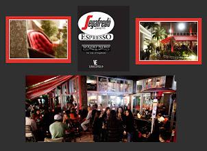 Photo: Specialized Designs / Wieber Art Segafredo/Miami Brickell, FL Opalescent Finish - Facade