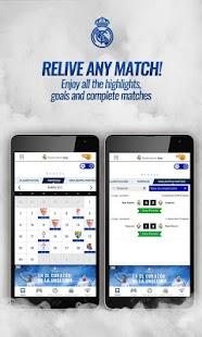 Real Madrid App - náhled