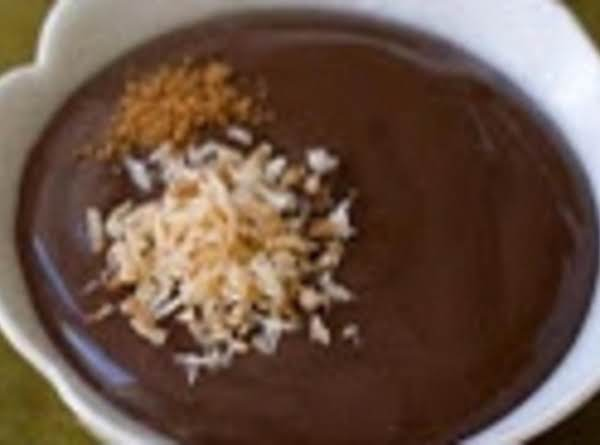 Coconut Chocolate Pudding Recipe